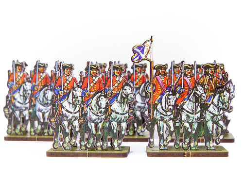 18mm British Dragoons, Hay's regiment (Scots Greys)