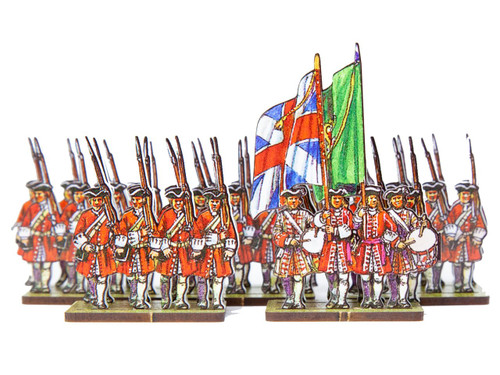 18mm British line infantry