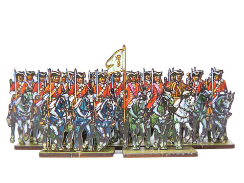 18mm British Dragoons