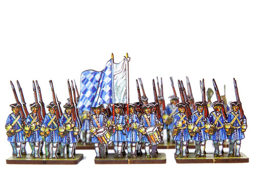 18mm Bavarian Line Infantry