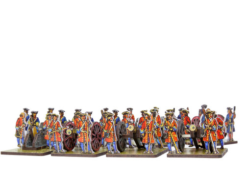 18mm Dutch/Prussian artillery