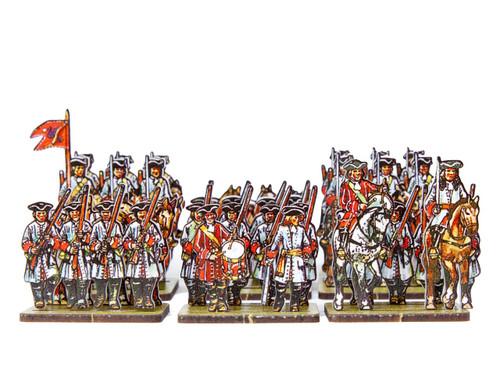 18mm Dutch/Prussian Dragoons