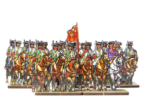 28mm French Line cavalry