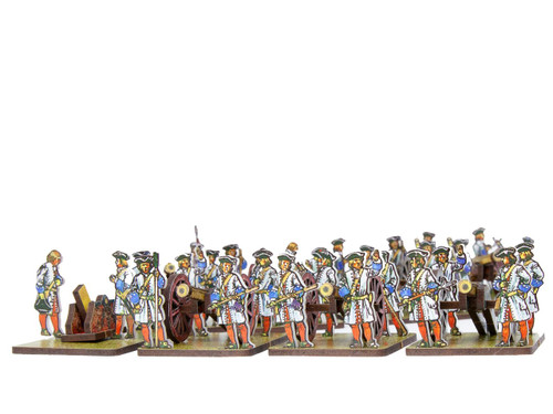 18mm French and Bavarian artillery
