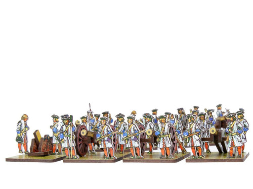 28mm French and Bavarian artillery