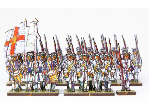 18mm French Line Infantry Roth (blue facing and blue cuffs)