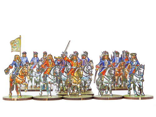 18mm Grenadiers A Cheval and Mounted Generals