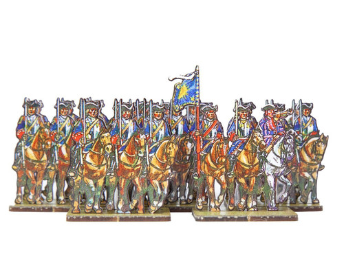 18mm WoSS French Line Cavalry Royal Cuirassiers