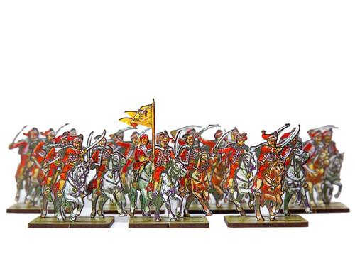 28mm WoSS  Poldeak Hussars (French)