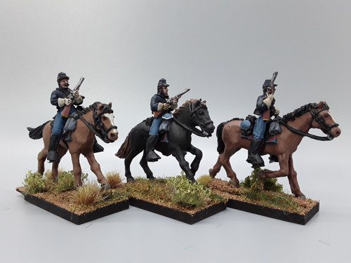 28mm US Cavalry with carbines, summer