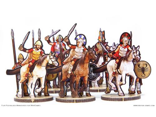 28mm Greek Leaders