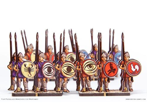 28mm Greek Hoplites 2
