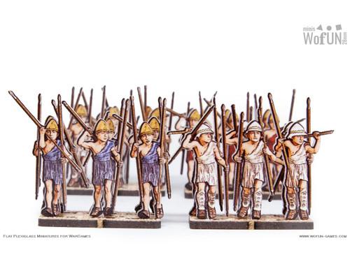 28mm Greek Skirmishers