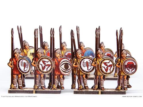 28mm Greek Hoplites 1