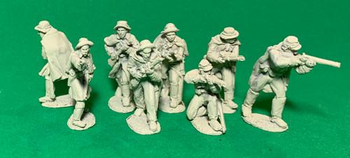 CS dismounted cavalry, skirmishing, winter