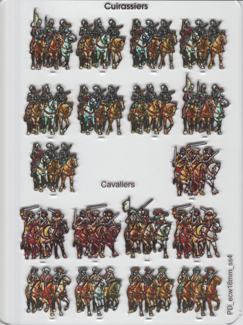 18mm ECW Cuirassiers and Cavaliers