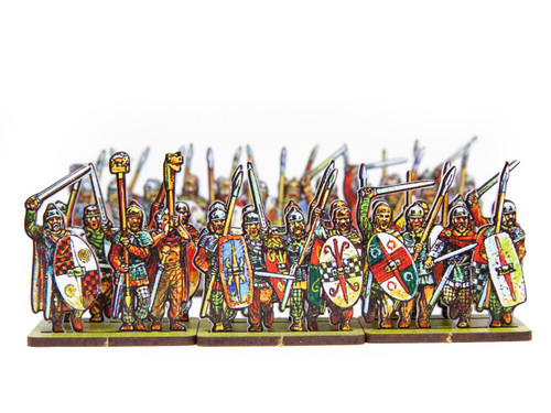 18mm Gallic Armored Infantry