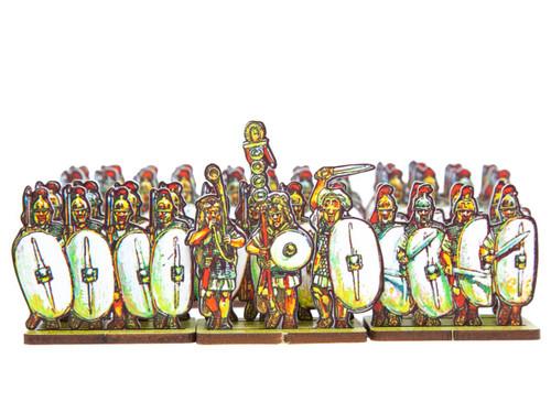 18mm Caesar's Infantry, white shields