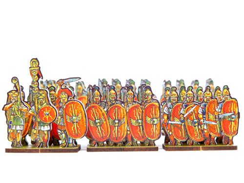 18mm Caesar's Infantry, red winged shields