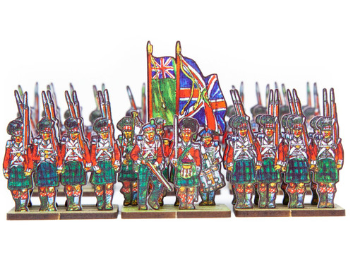 18mm British Highland Infantry