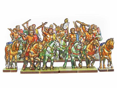 28mm Ancient British Cavalry