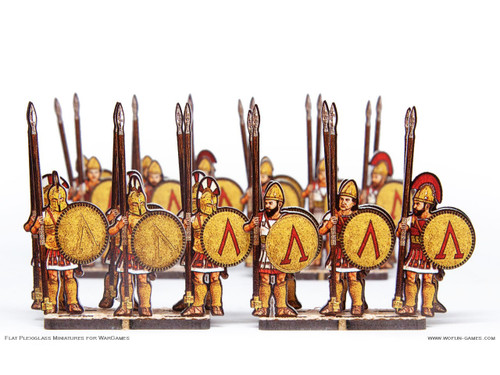 28mm Spartans Hoplites 1