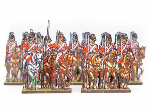 28mm British Dragoons -Peninsular War