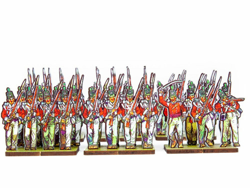 28mm British Infantry, flank companies and light infantry