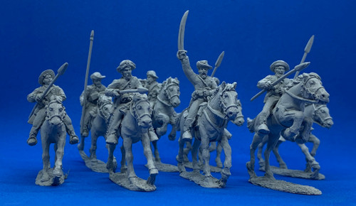 28mm 5th Texas Lancers
