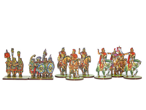 18mm Roman Commanders