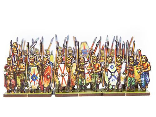 18mm German Tribesmen 1 Infantry