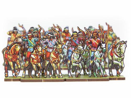 18mm EIR Enemies: Pathian Horse Archers and German Cav