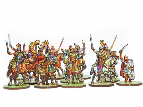 18mm Commanders Roman - Enemies and British Cav