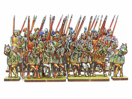 18mm Pathian Cataphracts and Archers