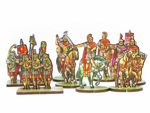 18mm Roman Commanders, Scorpions, Numidian Cav