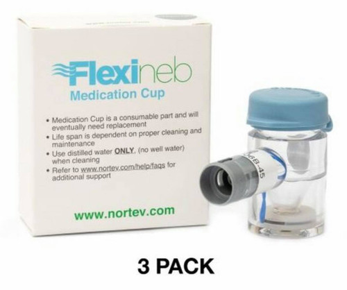STANDARD GRAY Medication Cup - 3 Pack