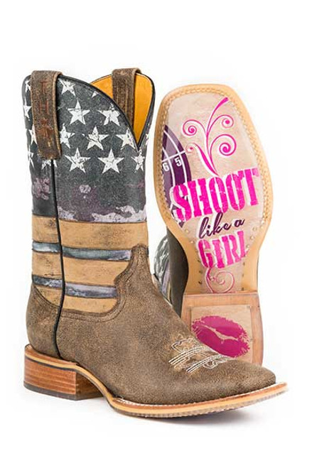 AMERICAN WOMAN / SHOOT LIKE A GIRL SOLE