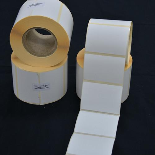 74mm x 102mm Roll Labels (75mm Core) Box of 4 Rolls (1000 Labels per Roll)