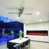 BI-88-Deep Panorama Amantii Electric Built in Fireplace