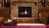 """Astria 45"""" Scorpio Traditional Direct-Vent Fireplace - Front Open"""