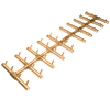 CROSSFIRE CFBDT400 Double Tree-Style Brass Burner