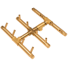 CROSSFIRE CFBST120 Square Tree-Style Brass Burner