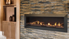 "Majestic Echelon II 60"" Direct Vent Gas Fireplace with IntelliFire Plus Ignition System (NG)"