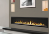 """Majestic Echelon II 72"""" Direct Vent Gas Fireplace with IntelliFire Plus Ignition System (NG)"""