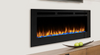 """Majestic Allusion 48"""" Recessed Linear Electric Fireplace"""
