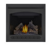 PHAZER Log Set, Heritage Front, MIRRO-FLAME Porcelain Reflective Radiant Panels