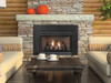 Empire The Innsbrook Vent-Free Cleanface Insert/Fireplace with Barrier − Medium - Millivolt Control with On/Off Switch - 28,000 Btu