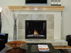 """Empire Tahoe Clean-Face Direct-Vent Contemporary Fireplace Premium 42"""" - Intermittent Pilot with On/Off (Battery Backup and AC Adapter)"""