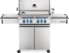 Prestige PRO™ 500 Propane Gas Grill with Infrared Rear and Side Burners, Stainless Steel