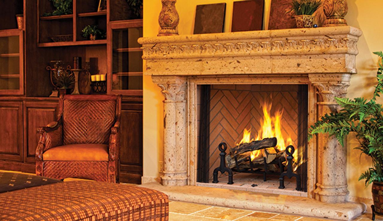 Astria Georgian 50 Wood-Burning Fireplace